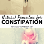 natural remedies for constipation, woman on toilet