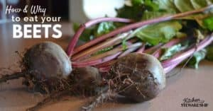 How to Use Beets and Why You Should plus Instant Pot Black-Eyed Pea and Beet Green Soup Recipe