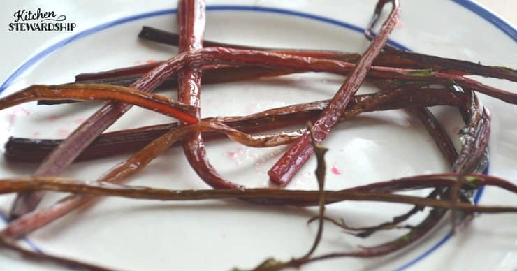 How to use beets and why you should beet stems