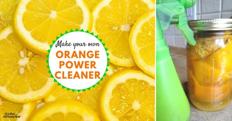 How to Make Homemade Orange Power Cleaner DIY