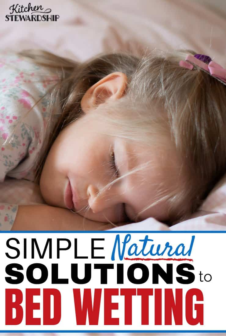 Simple solutions to bed wetting