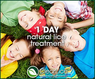 Click for natural lice treatment!
