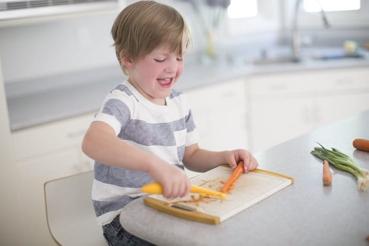 Kids Cook Real Food - Teach Kids How To Use Knives Safely Cook Healthy Food All By Themselves