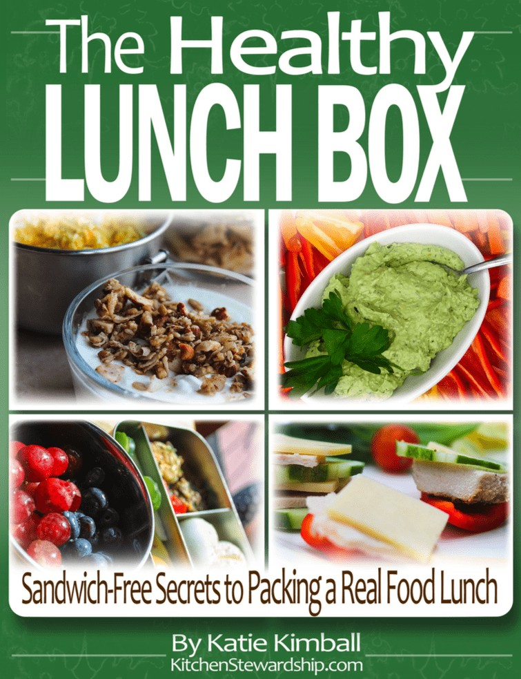 The Healthy Lunch Box cover