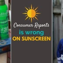 Why I Won't Listen to Consumer Reports on Sunscreen