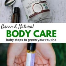 Green and Natural Body Products