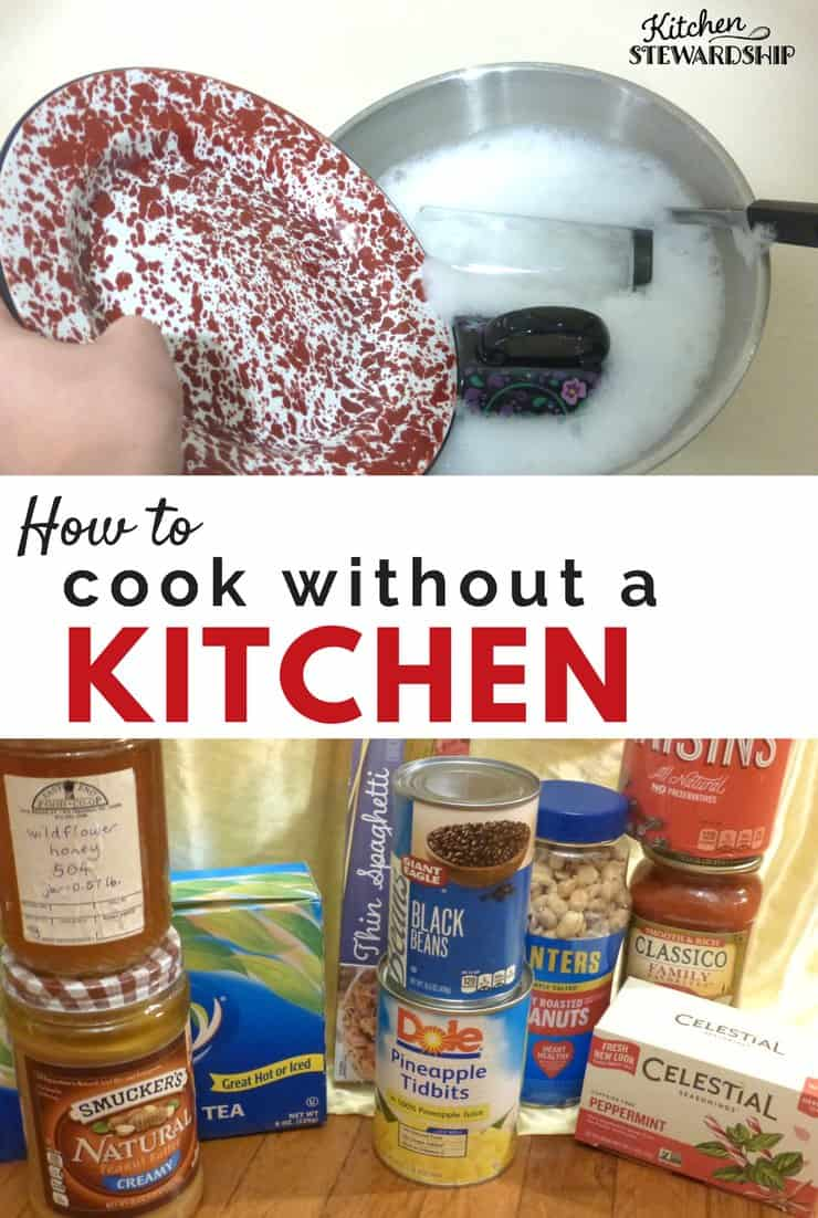 How to cook without a kitchen
