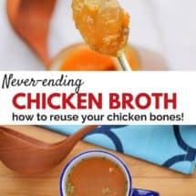 "Eat Well, Spend Less: The Never-Ending Chicken Broth (Am I ""Stocking Up"" or Being Greedy?)"