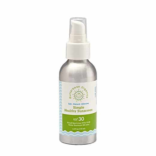 Find the best natural all day facial moisturizer with SPF. Great list and honest reviews. Butterbean Organics.