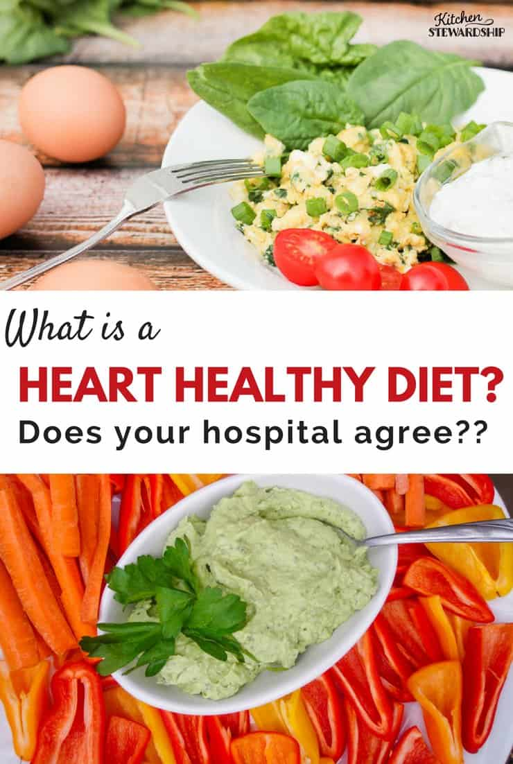 heart healthy hospital diet
