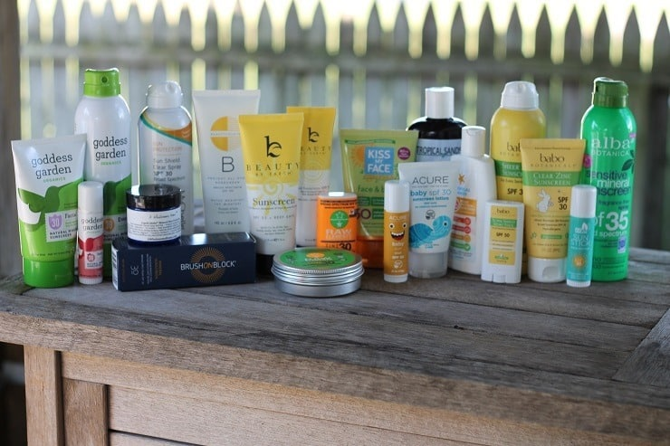 many of the 2017 tests for the 2018 sunscreen review update