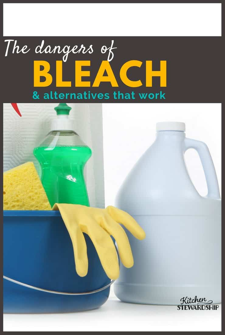 The Dangers of Bleach & Alternatives That Disinfect Effectively