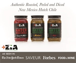 hatch chiles with super clean ingredients!