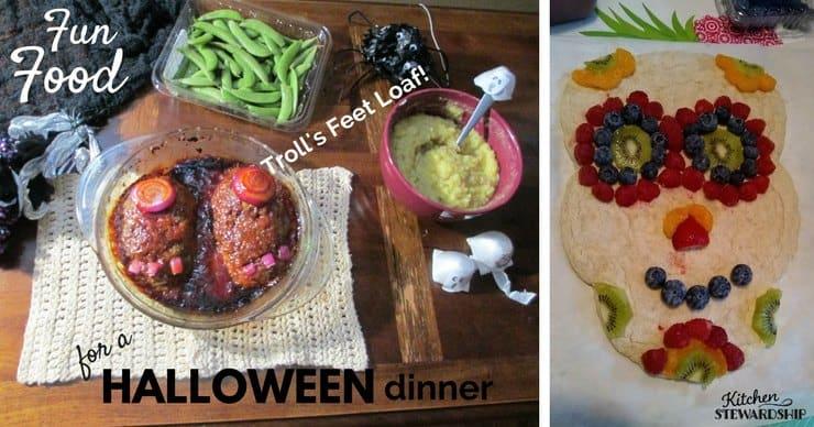 Halloween themed fun food ideas