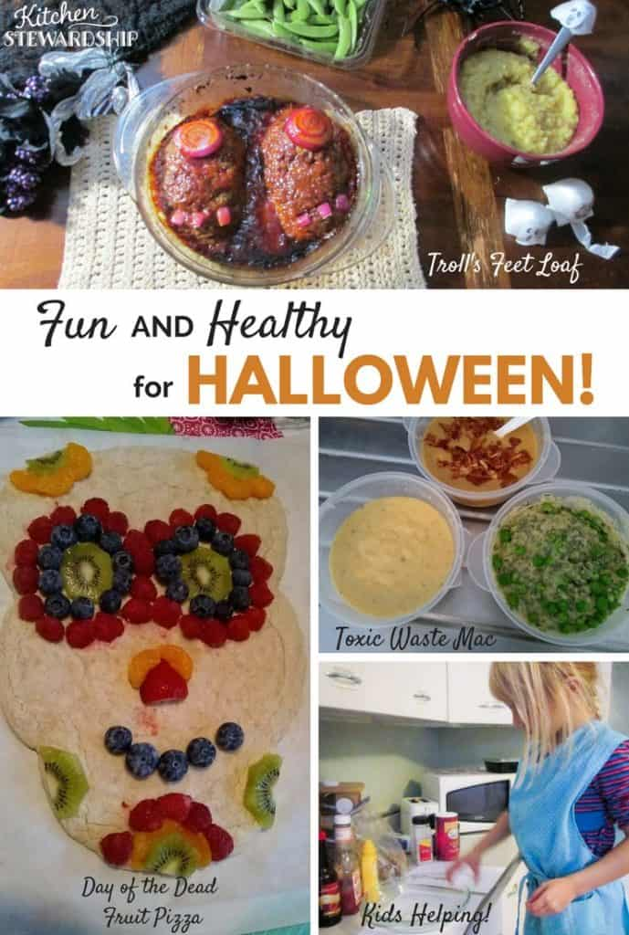 Fun and healthy recipe ideas for Halloween