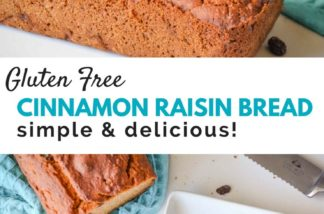 Gluten Free Cinnamon Raisin Bread Recipe