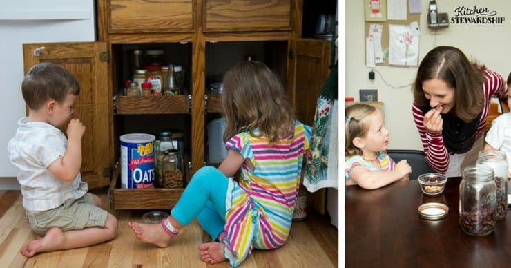 Organize your kitchen NOW to make it kid-friendly