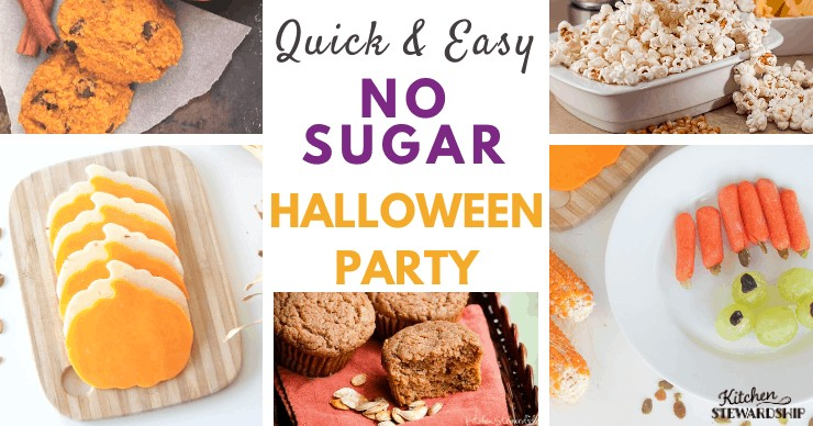 Easy Healthy School Halloween Party Plan (with No Sugar!)