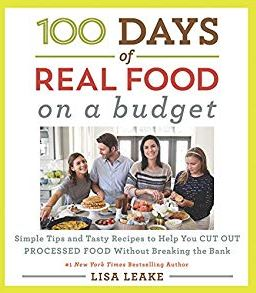 100 days real food on budget cookbook