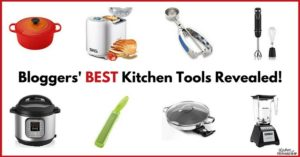Big list of the coolest kitchen gadgets! Famous bloggers think these gadgets are the best kitchen tools around.