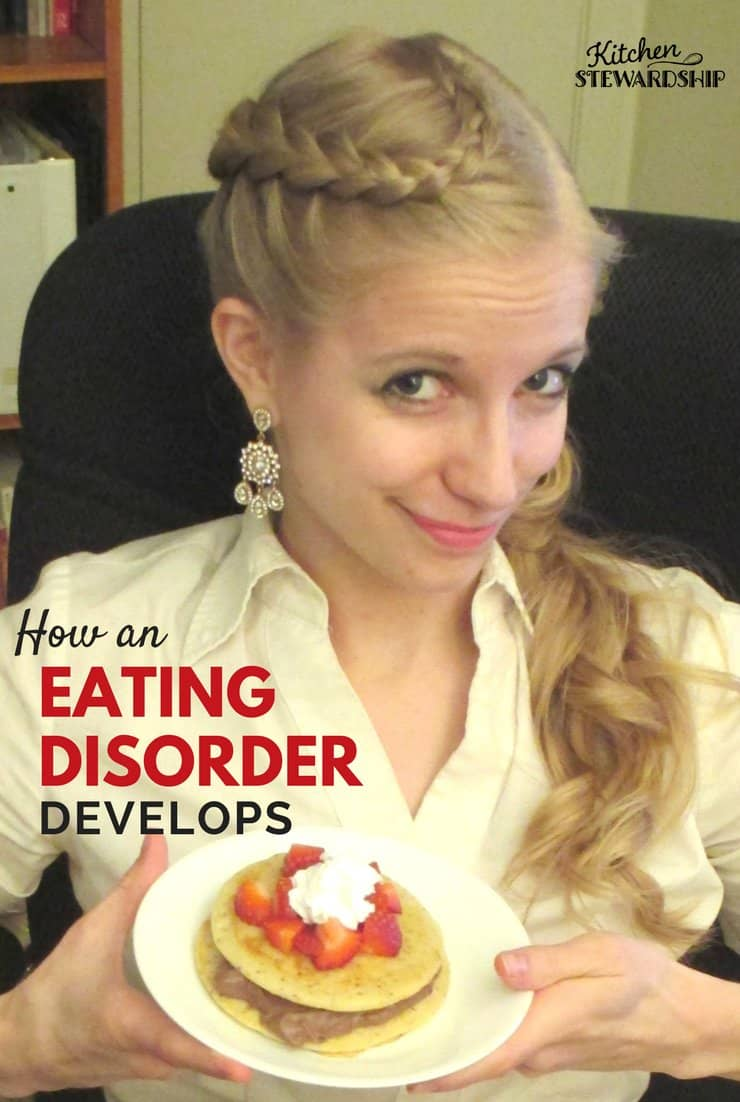 How an eating disorder develops