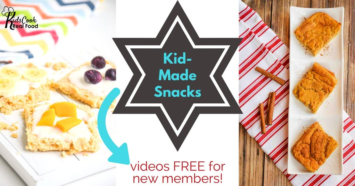 Click here to get the free snacks videos