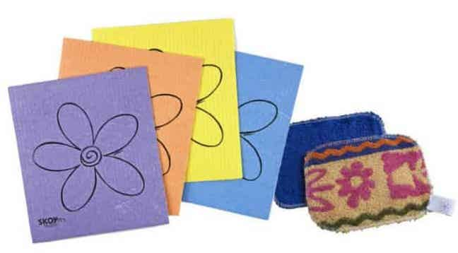 Microfiber Cloths or Sponge Cloths