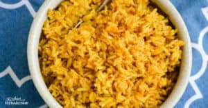 Kid-Approved Easy Instant Pot Golden (Turmeric) Rice Recipe