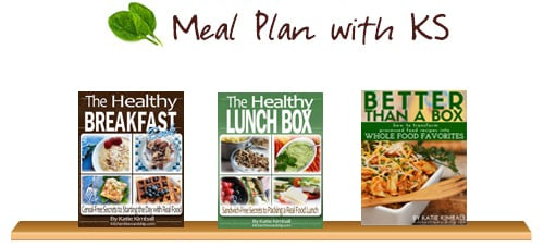 Meal plan with Kitchen Stewardship eBook bundle