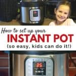 how to unbox and set up your Instant Pot