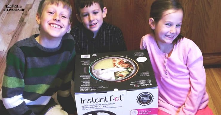 Setting up your new Instant Pot - so easy kids can do it!