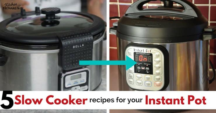 5 slow cooker recipes for the Instant Pot