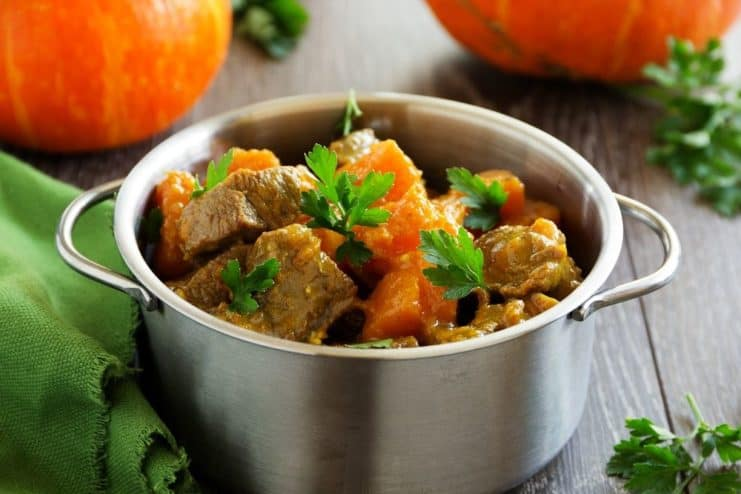 Paleo Beef Pumpkin Stew Crock Pot Recipe