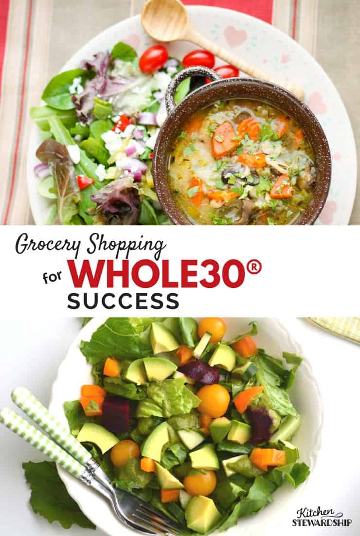Whole30 Shopping List for Success