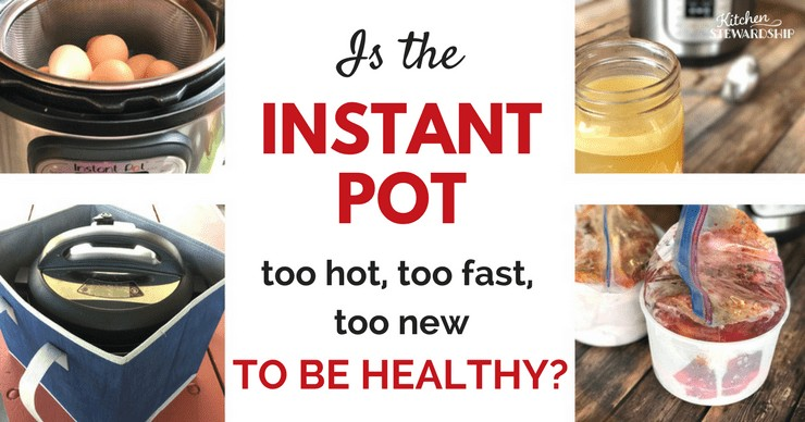 is the Instant Pot too hot to be healthy