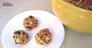 Healthy Food vs. Comfort Food with Gluten-Free Energy Ball Recipe