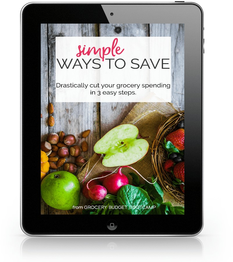 Simple Ways to Save: Drastically cur your grocery spending in 3 easy steps