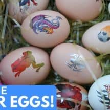 No Mess, No Food Coloring Easter Egg Decorating