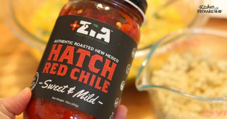 Zia Hatch Red Chile sweet and mild.