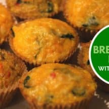 Who Else Needs an Easy, Healthy Breakfast? Make Ahead Egg Bites Recipe