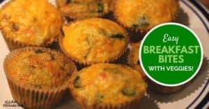 Who Else Needs an Easy, Healthy Breakfast? Make Ahead Egg Bites Recipe