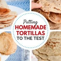 Kids Test Gluten-Free Tortillas (Recipe for 100% Whole Grain Gluten-Free Tortillas with No Gums!)