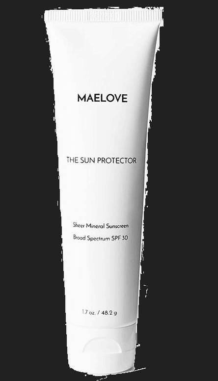 Maelove SPF 30 sunscreen