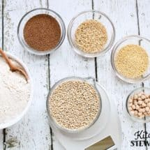 Two Homemade Whole Grain Gluten-free Flour Blends