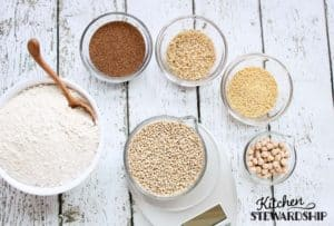 Two Homemade Whole Grain Gluten-free Flour Blends