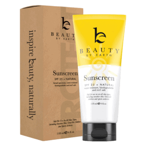 Beauty by Earth SPF 20 facial sunscreen