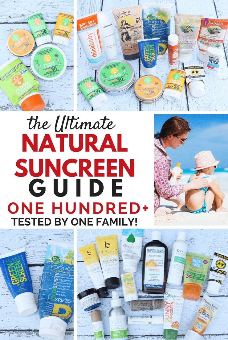 Natural Sunscreen Guide