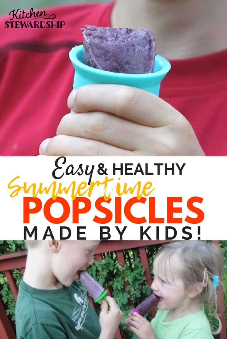 easy homemade popsicles