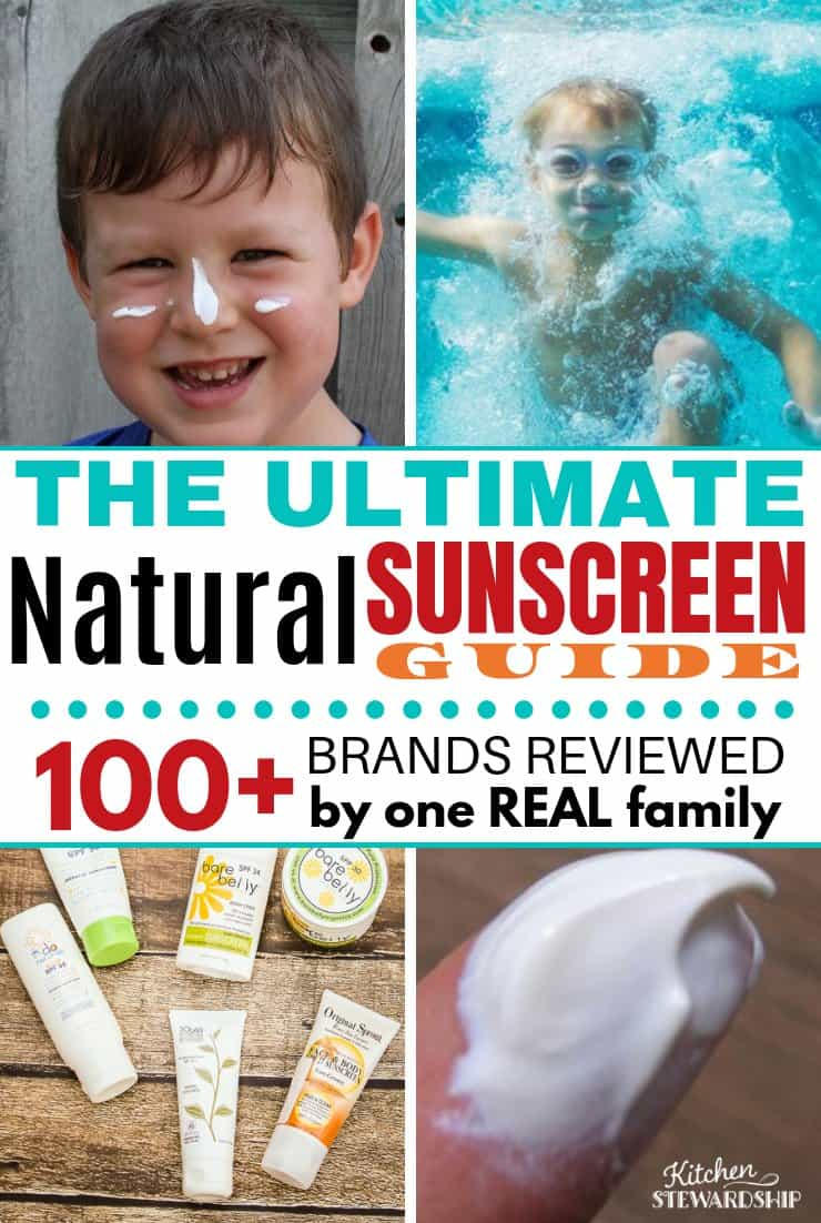 The ultimate natural sunscreen guide