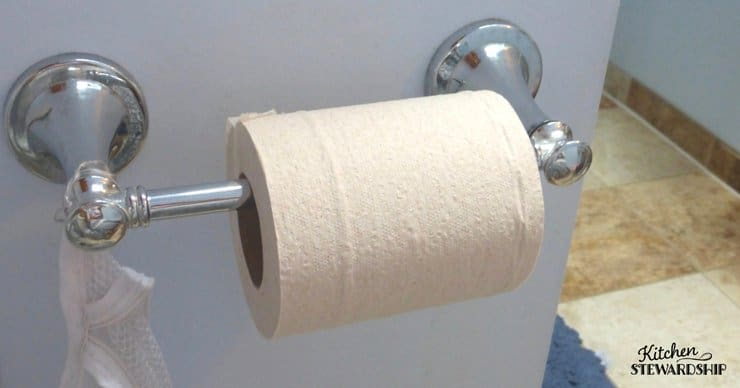 Roll of toilet paper